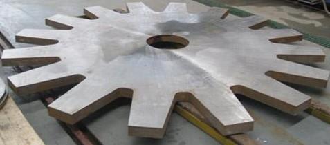 不锈钢板水刀圆环切割
